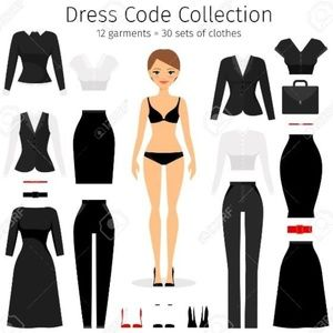 12 GARMENTS = 30 OUTFITS!  DO IT ON A BUDGET!